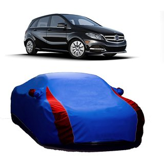 InTrend UV Resistant Car Cover For Mahindra Armada (Designer Blue  Red )