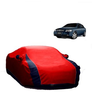 DrivingAID Water Resistant  Car Cover For Maruti Suzuki Astar (Designer Red  Blue )