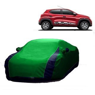 Bull Rider Water Resistant  Car Cover For Fiat Linea Classic (Designer Green  Blue )