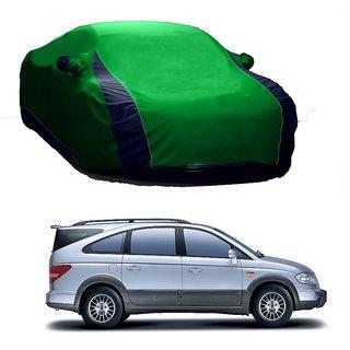DrivingAID Water Resistant  Car Cover For Mercedes Benz SL-Class (Designer Green  Blue )