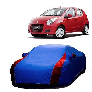 InTrend UV Resistant Car Cover For Honda Accord (Designer Blue  Red )