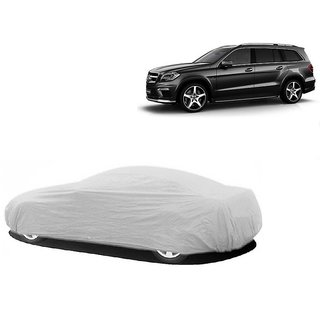 Bull Rider Car Cover For Nissan Go (Silver Without Mirror )