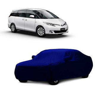 SpeedRo Car Cover For Tata Indigo (Blue With Mirror )