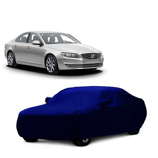 InTrend UV Resistant Car Cover For Skoda Fabia (Blue With Mirror )