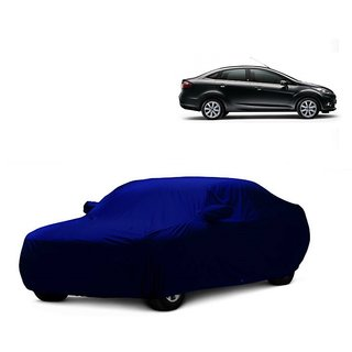 InTrend UV Resistant Car Cover For Mercedes Benz SL-Class (Blue With Mirror )