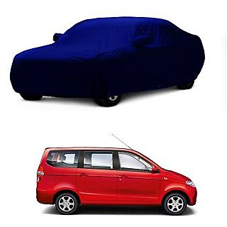 AutoBurn UV Resistant Car Cover For Nissan Terracan (Blue With Mirror )