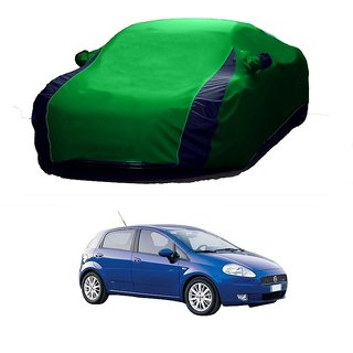InTrend UV Resistant Car Cover For BMW Gran Coupe (Designer Green  Blue )