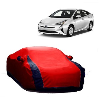 InTrend UV Resistant Car Cover For Maruti Suzuki S-Cross (Designer Red  Blue )