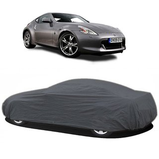 RideZ Water Resistant  Car Cover For BMW 1 Series (Grey Without Mirror )