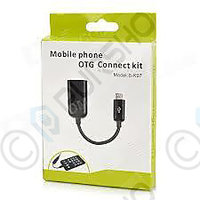 OTG Cable - MICRO USB V8 Cable  For Tablet PC, Mobile  To Attach Pendrives