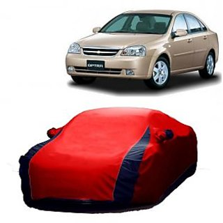 DrivingAID Water Resistant  Car Cover For Audi R8 (Designer Red  Blue )
