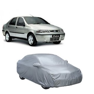DrivingAID Water Resistant  Car Cover For Mercedes Benz S-Class (Silver With Mirror )