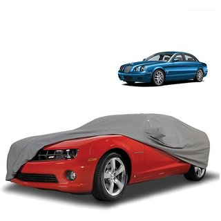 Bull Rider Water Resistant  Car Cover For Toyota Spacio (Grey With Mirror )
