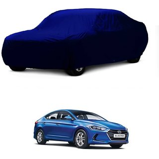 Bull Rider Car Cover For Ford Ecosport (Blue Without Mirror )