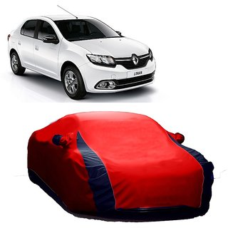 DrivingAID Water Resistant  Car Cover For Nissan Micra (Designer Red  Blue )