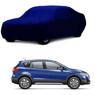 RideZ Water Resistant  Car Cover For Tata Sonata (Blue Without Mirror )
