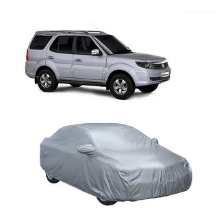 RideZ Water Resistant  Car Cover For Maruti Suzuki Swift Dzire Old (Silver With Mirror )