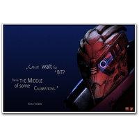 Mass Effect 3 Poster By Artifa