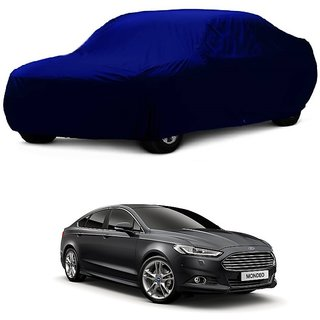 Bull Rider Car Cover For Audi Q3 (Blue Without Mirror )