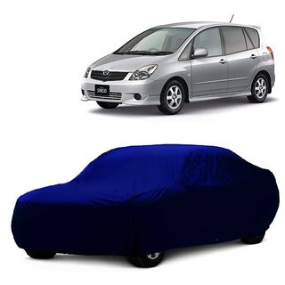 RideZ Water Resistant  Car Cover For Hyundai Verna Fluidic 4S (Blue Without Mirror )