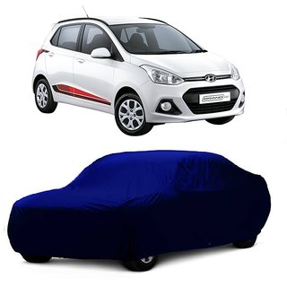 RideZ Water Resistant  Car Cover For Maruti Suzuki Gypsy (Blue Without Mirror )