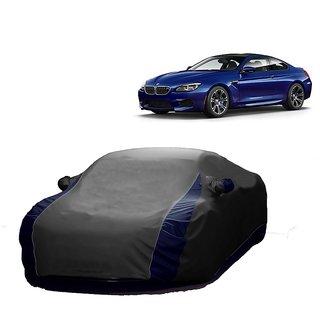 Bull Rider Water Resistant  Car Cover For Chevrolet Optra SRV (Designer Grey  Blue )