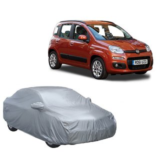 RideZ Water Resistant  Car Cover For SsangYong Rodius (Silver With Mirror )
