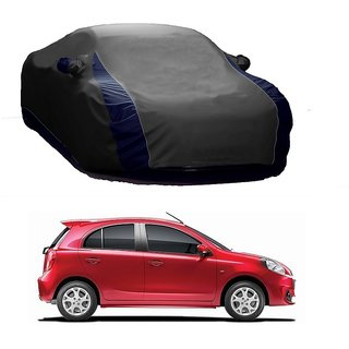 DrivingAID Water Resistant  Car Cover For Audi S7 (Designer Grey  Blue )
