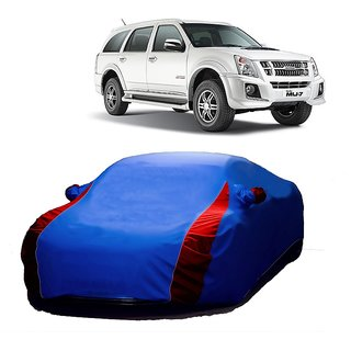 RideZ Water Resistant  Car Cover For Fiat Palio (Designer Blue  Red )