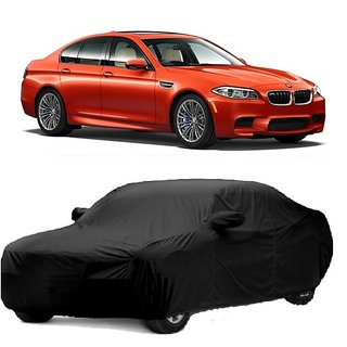 RideZ Water Resistant  Car Cover For Skoda Octavia (Black With Mirror )