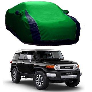 DrivingAID Water Resistant  Car Cover For Maruti Suzuki Ciaz (Designer Green  Blue )