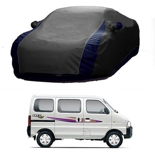 RideZ Water Resistant  Car Cover For Land Rover Discovery Sport (Designer Grey  Blue )