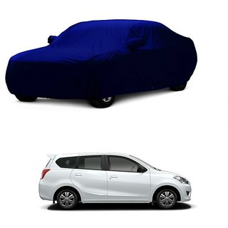 Bull Rider Car Cover For Audi A4 (Blue With Mirror )