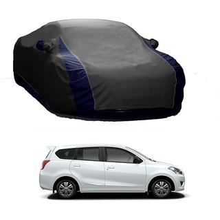Bull Rider Water Resistant  Car Cover For Maruti Suzuki Grand Vitara (Designer Grey  Blue )
