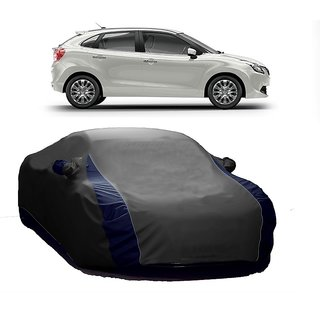 DrivingAID Water Resistant  Car Cover For Mercedes Benz B Class (Designer Grey  Blue )