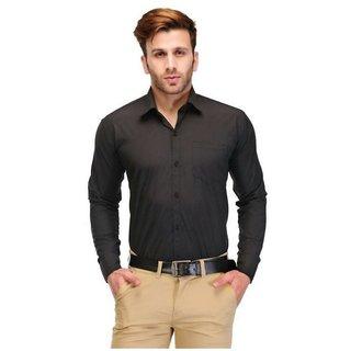 Black formal slim fit for men
