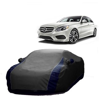 RoadPluS Water Resistant  Car Cover For Honda Cr-V (Designer Grey  Blue )
