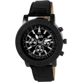 Addic Bold Black Macho Men's Watch