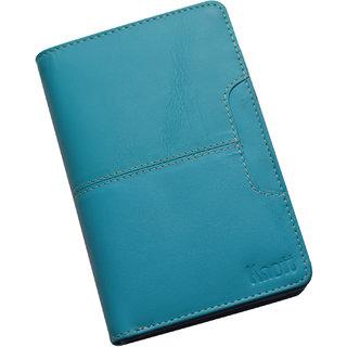 Knott Fashionable Blue Leather Wallet for Women