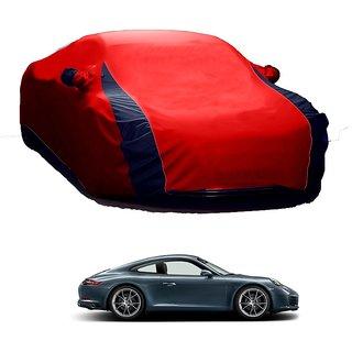 RoadPluS Water Resistant  Car Cover For Maruti Suzuki 800 (Designer Red  Blue )