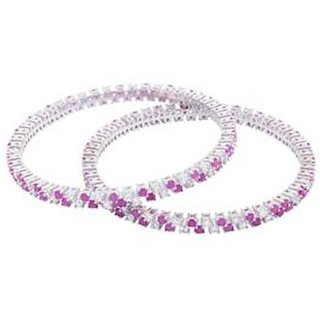 Bangles 925 Sterling Silver Jewellery Original with Cubic Zirconia