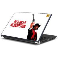 Red Dead Redemption Game Laptop Skin By Artifa