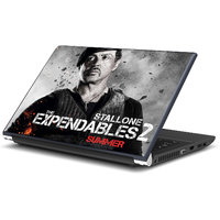 Sylvester Stallone In Expendables Laptop Skin By Artifa