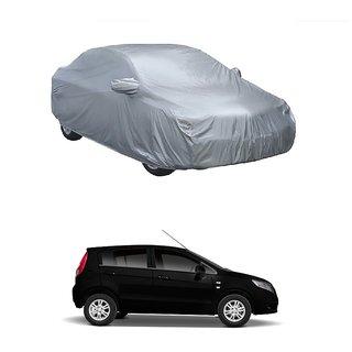 SpeedGlorY Water Resistant  Car Cover For Maruti Suzuki Swift Dzire New (Silver With Mirror )