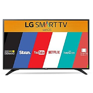 LG 43UH617T 109.22 cm (43 inches) 4K Ultra HD Smart LED IPS TV (Black)