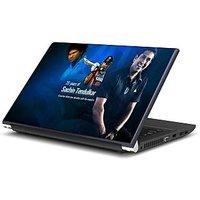 20yrs Of SRT Cricket Laptop Skin By Artifa