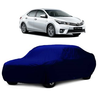 SpeedRo Water Resistant  Car Cover For BMW Alpina B6 (Blue Without Mirror )