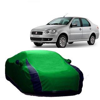 AutoBurn Water Resistant  Car Cover For Chevrolet U-Va (Designer Green  Blue )