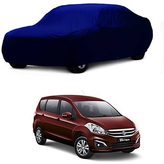 SpeedRo Water Resistant  Car Cover For Maruti Suzuki Eeco (Blue Without Mirror )
