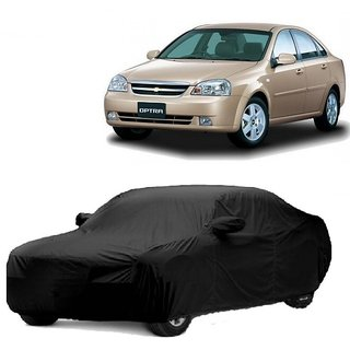 Bull Rider Car Cover For Skoda Rapid (Black With Mirror )